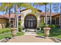 one story homes rancho santa fe gorgeous mediterranean home one story