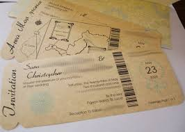 Boarding Pass Wedding Invitations Boarding Pass Wedding Invitations The Wedding Specialiststhe