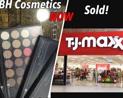 bh cosmetics now sold at tj maxx pay less money for
