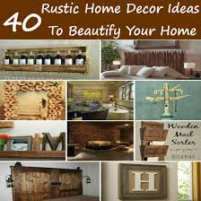 home rustic decor house scheme