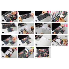 American Flag Keyboard Stickers Vinyl Sticker Skin Decal Keyboard Usa American Flag Cover Top Lid
