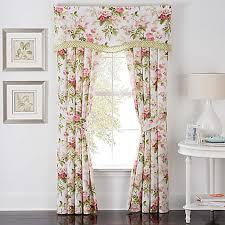 Waverly Curtain Panels Waverly皰 S Garden Rod Pocket Window Curtain Panel Pair In