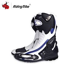 leather motocross boots racing motocross boots promotion shop for promotional racing
