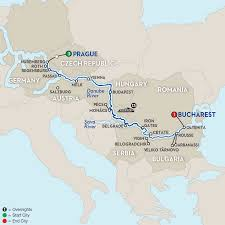 Hungary World Map Budapest Cruise Avalon Waterways