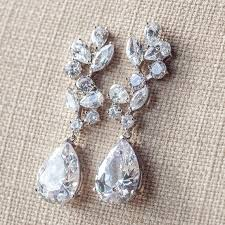 wedding earrings drop bridal earrings drop earrings diamante bridal