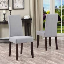 simpli home acadian parson dining chair set of 2 walmart com