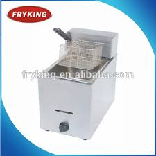 table top fryer commercial commercial table top gas deep fryer 1 tank 1 basket buy