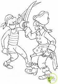 coloriage les combats entre pirates dans la catégorie pirate
