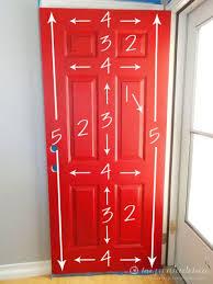 painting your front door the easy way the diy village tis the season how to paint your front door front doors doors