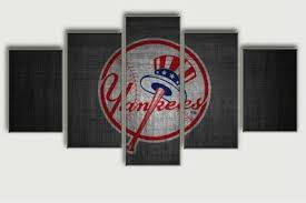 black friday canvas prints black friday sale painting new york yankees five piece canvas
