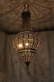 Indoor Lantern Chandelier Moroccan Chandelier Silver Editonline Us