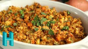 how to make chorizo cornbread dressing thanksgiving side dish