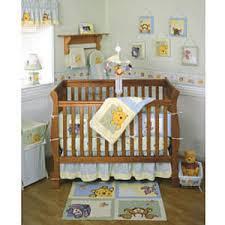 Pooh Crib Bedding Kidsline Soft Fuzzy Pooh 4 Crib Bedding Set Reviews