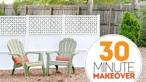Simple Backyard Makeovers 30 Minute Backyard Makeover Bite Sized Biggie