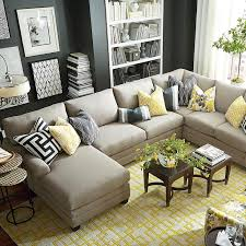 6 seat sectional sofa u shaped sectional sofa with chaise best 25 intended for plans 2