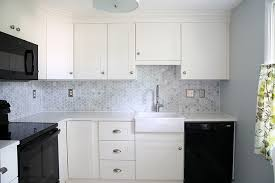 How To Add Crown Molding To Kitchen Cabinets Just A Girl And Her - Kitchen cabinets moulding