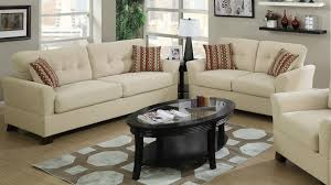 Fabric Sofa Sets by Cream Bamboo Fabric Sofa And Loveseat Set Steal A Sofa Furniture