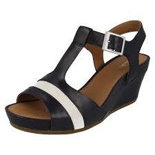 ladies clarks sandals u0027rusty rebel u0027 ebay
