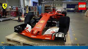 ferrari f1 lego real car size ferrari f1 machine