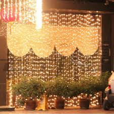 curtain lights 600 800 1000 led icicle curtain lights 6 8 10 3m wedding warm