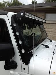 jeep light bar mount my wife u0027s 2012 unlimited rubicon build page 6 expedition portal