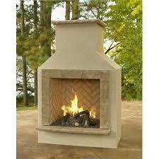 Propane Outdoor Firepit Buy Outdoor Fireplace San Juan Fireplace With Lp Log Set