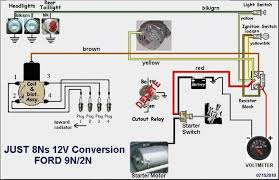 ford 8n 12v wiring diagram ford wiring diagrams for diy car repairs
