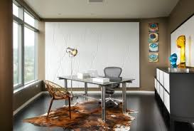 interior design ideas for home office space with modern sliding