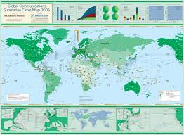 Ip Address Map Submarine Cable Map 2004
