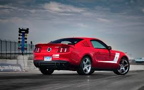 2010 roush 427r ford mustang first test motor trend