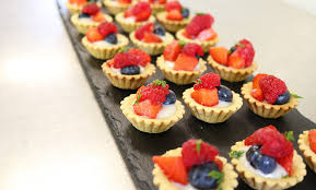 canapes fruit canapes gold leaf catering