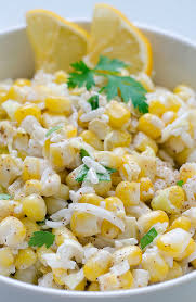 Salad Main Dish - corn salad