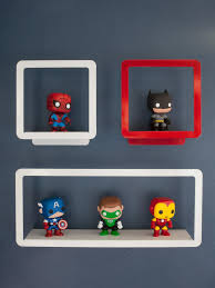 little boy s bedroom red blue and action packed hgtv red and white hardware