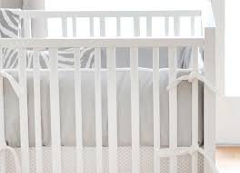 gray crib bumper white and gray crib bumpers gray crib bumper pads