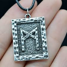 meaning necklace images Mcsays norse viking jewelry viking rune meaning man pendant rope jpg