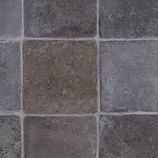 flagstone anthracite texstar vinyl flooring felt back lino