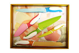 pink kitchen knives martha stewart collection 2 piece knife set