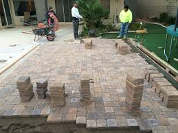 Patio Bricks At Lowes by Backyard Patio Pavers Pics On Charming Small Backyard Pavers Ideas