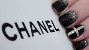 arcadianailart chic chanel inspired nails