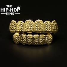 aliexpress com buy gold color hip hop teeth grillz rapper caps