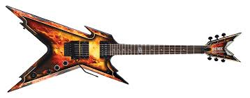 3d printed dean razorback guitar in scale 1 4 fully 3d printable