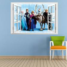 frozen cartoon wall stickers cartoon movie wall decals children s frozen cartoon wall stickers cartoon movie wall decals children s room wall papers home decoration 45 60cm wall decals sayings wall decals sticker from