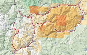 Blm Maps Colorado by Colorado Parcels Land Mining Claims Silverton Lake City Ouray