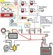 motorcycle wiring diagram diagram wiring diagrams for diy car