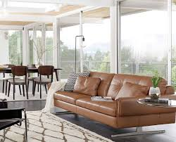 scandinavian livingroom clementi leather sofa u2013 daniafurniture com