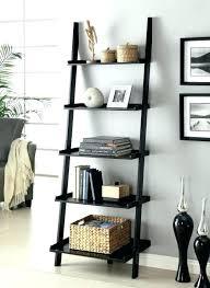 bookshelf decorations ladder shelf decorating ideas leaning bookshelf decorating ideas