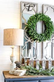 Home Foyer Decorating Ideas 6 After Christmas Winter Foyer Decorating Ideas
