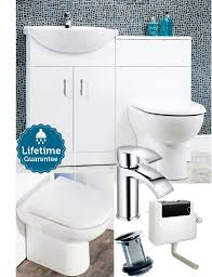 Wickes Bathroom Furniture Bathroom Furniture Suite Combination Vanity Unit Basin Cabinet