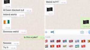Flag Emoji Meaning Whatsapp Users Baffled By Mysterious Black Flag Icon That Replaces