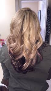 hair styles brown on botton and blond on top pictures of it best 25 purple underneath hair ideas on pinterest dyed hair